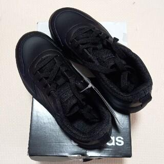 アディダスadidas キッズスニーカー靴19.5 黒(スニーカー)