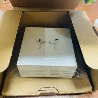 アップル(Apple)の新品 エアーポッツ プロ Air pods pro(ヘッドフォン/イヤフォン)