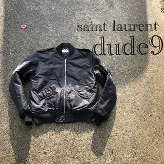 Saint Laurent - dude9 デュードナイン ma1 saint lauren サンローラン