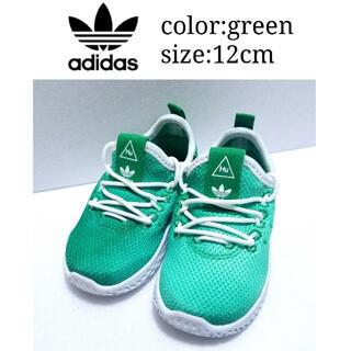 アディダス(adidas)のほぼ新品 アディダス ファレルコラボキッズスニーカー(スニーカー)