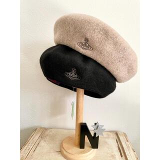 Vivienne Westwood - 新品★VivienneWestwood バスク ベレー帽モカブラウン