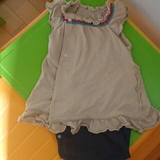 コンビ(combi)のCombi ロンパース 半袖 可愛い 赤ちゃん 女の子(ロンパース)