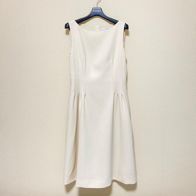 FOXEY(フォクシー)の♡ foxey ♡ magnolia dress ワンピース 38 レディースのワンピース(ひざ丈ワンピース)の商品写真