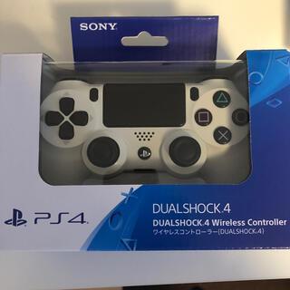 PlayStation4 - PS4 純正コントローラー 白