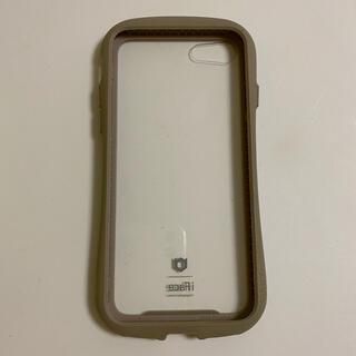 アイフォーン(iPhone)のiFace iPhoneカバー 6/6S ベージュ(iPhoneケース)