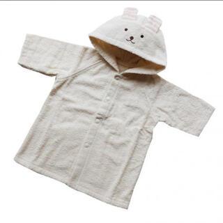 ムジルシリョウヒン(MUJI (無印良品))の天衣無縫 お風呂うさぎポンチョ(バスローブ)