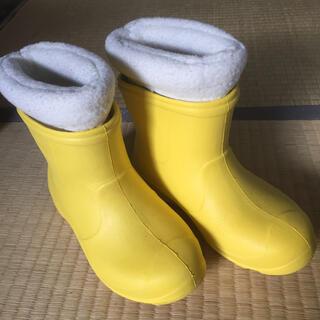 IGNIO スノーブーツ 19〜20cm イエロー(長靴/レインシューズ)