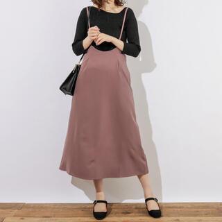 ナチュラルクチュール(natural couture)のnatural couture ♡ サロペットスカート(サロペット/オーバーオール)