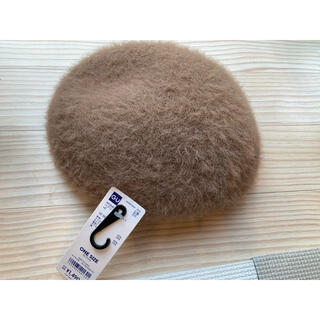 GU - ジーユーGU モヘアベレー帽