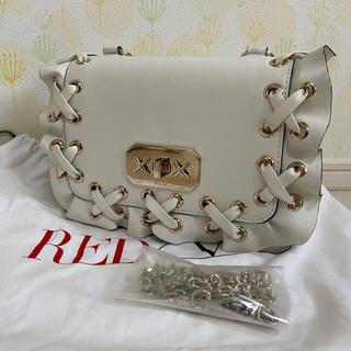 レッドヴァレンティノ(RED VALENTINO)の極美品 レッドバレンティノ ショルダーバッグ(ショルダーバッグ)