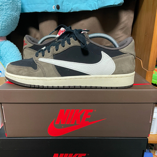 NIKE - NIKE AIR JORDAN 1 LOW OG SP TRAVIS SCOTT