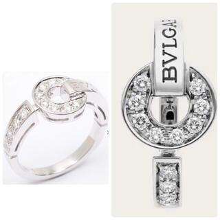 ブルガリ(BVLGARI)のBVLGARI  ✨パヴェダイヤモンド✨18Kホワイトゴールド製 リング(リング(指輪))