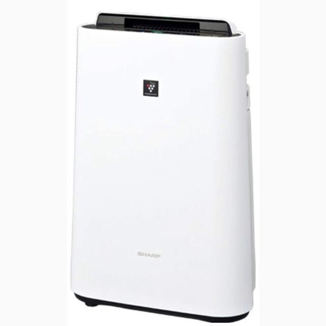 SHARP(シャープ)のシャープ 加湿 空気清浄機 プラズマクラスター ホワイト KC-L50-W スマホ/家電/カメラの生活家電(空気清浄器)の商品写真