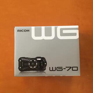 RICOH - RICOH WG-70 Black 新品未使用 保証書付き