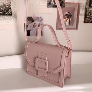 Lochie - milky belt bag -pink-
