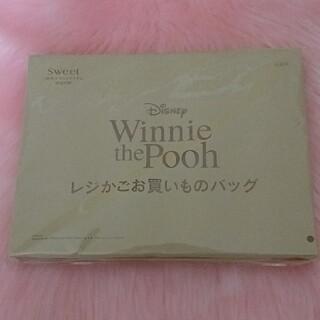 クマノプーサン(くまのプーさん)のWinnie the Poohレジかごお買いものバッグ(エコバッグ)