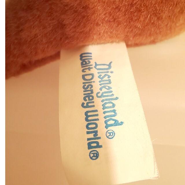 チップ&デール(チップアンドデール)のディズニー チップ&デール レスキューレンジャー ぬいぐるみ エンタメ/ホビーのおもちゃ/ぬいぐるみ(ぬいぐるみ)の商品写真