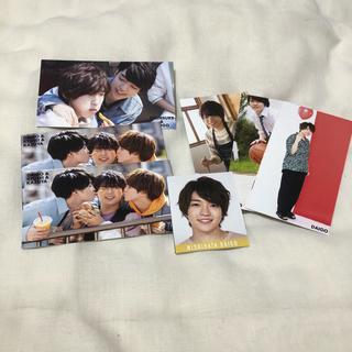 西畑大吾 デタカ 2020 MYOJO 厚紙 19-20 関ジュカレンダー(アイドルグッズ)