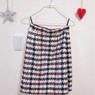 プロポーションボディドレッシング(PROPORTION BODY DRESSING)の完売品⭐️プロポーションボディドレッシング  チェックスカート(ひざ丈スカート)