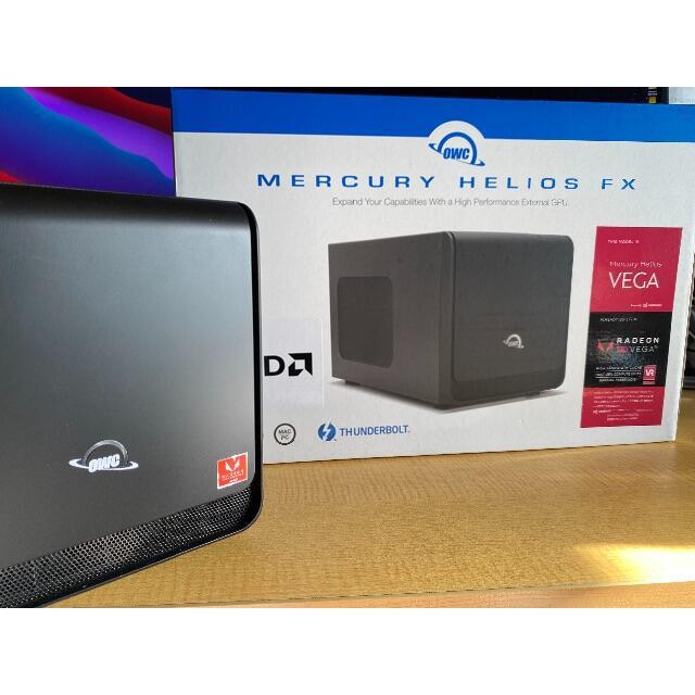 OWC Mercury Helios Fx eGPU vega56 スマホ/家電/カメラのPC/タブレット(PC周辺機器)の商品写真