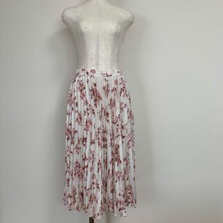 ドロシーズ(DRWCYS)のドロシーズ☆花柄 プリーツスカート Sサイズ(ひざ丈スカート)