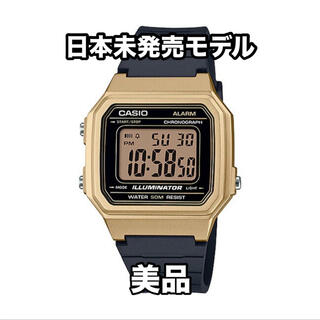 カシオ(CASIO)のCASIO チープカシオ  デジタルウォッチ スタンダード W-217HM-9A(腕時計(デジタル))