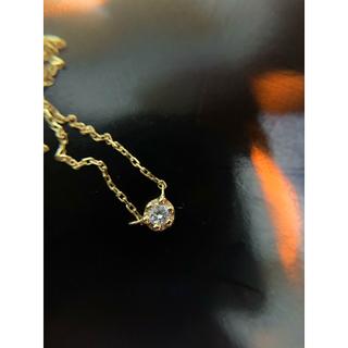 ete - エテ  k18ダイヤモンドネックレス  人気定番✨ダイヤモンド綺麗✨