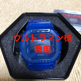 ジーショック(G-SHOCK)の【新品、保証書付】G-SHOCK DW-5600SB-2 スケルトンブルー (腕時計(デジタル))