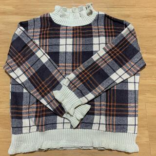 GRL - GRL チェックニット セーター