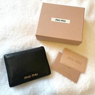 miumiu - ミュウミュウ マドラス 財布