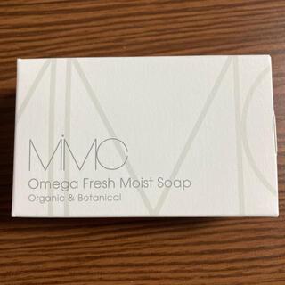 エムアイエムシー(MiMC)のMiMC オメガフレッシュモイストソープ ローズゼラニウム(洗顔料)