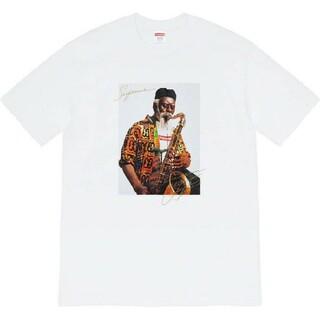 シュプリーム(Supreme)のSupreme  Pharoah Sanders Tee 白 white(Tシャツ/カットソー(半袖/袖なし))