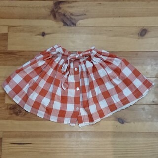 Caramel baby&child  - little cotton clothes チェックスカート 4-5Y