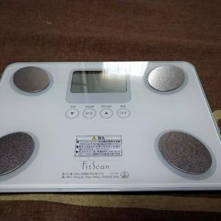タニタ(TANITA)の中古 タニタ FS-101 体重計 体組成計(体重計/体脂肪計)