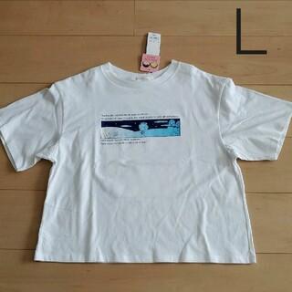 GU - 【L】GU コジコジ Tシャツ ホワイト