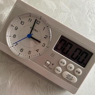 セイコー(SEIKO)のセイコー スタディタイム 知育時計 隂山英男先生監修 used美品(置時計)