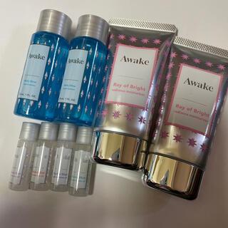 アウェイク(AWAKE)の化粧水、メイクアップベース、化粧用油、美容液(バラ売り可)(サンプル/トライアルキット)