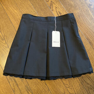 COMME CA ISM - コムサイズム プリーツ スカート 120 黒