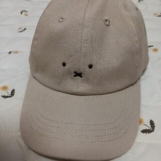 シマムラ(しまむら)の新品タグ付 ミッフィー miffy しまむら キャップ 50cm ベージュ(帽子)
