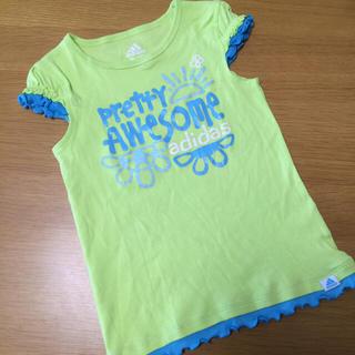 アディダス(adidas)の美品☆adidas パフスリーブTシャツ(Tシャツ/カットソー)
