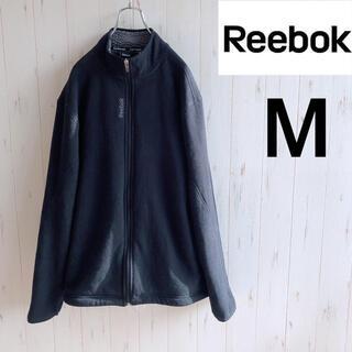 リーボック(Reebok)の【定番色】Reebok フリース 黒 M(ブルゾン)