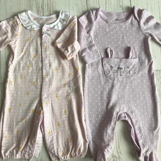 ベビーギャップ(babyGAP)のカバーオール ツーウェイオール 50-60cm 0-3ヶ月(カバーオール)