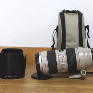 Canon - Canon EF70-200mm F2. 8L IS USM 大三元白レンズ