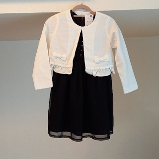入学式 ジャケット付きワンピース 冠婚葬祭 アートレター アクシーズファム