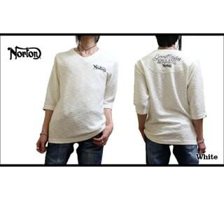 ノートン(Norton)のSALE!!7549円→3990円NORTONノートン スラブ6分T(Tシャツ/カットソー(七分/長袖))