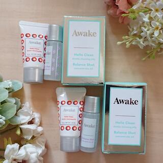 【3,322円相当】Awake アウェイク 洗顔クレンジング・オイル美容液(フェイスオイル/バーム)