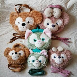 ディズニー(Disney)のTDS ダッフィーフレンズ ダッフィー&シェリーメイ&ジェラトーニ6点セット(トートバッグ)