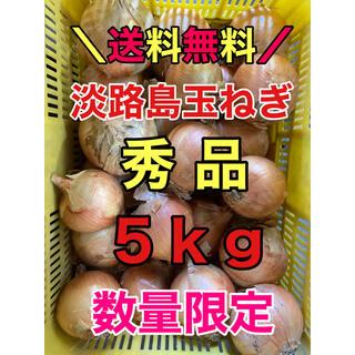 淡路島玉ねぎ タマネギ 玉葱 5kg 5キロ 秀品(野菜)