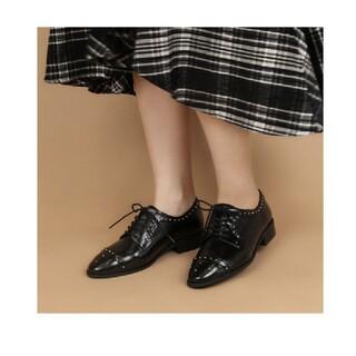 ランダ(RANDA)のスタッズドラッドシューズ(ローファー/革靴)