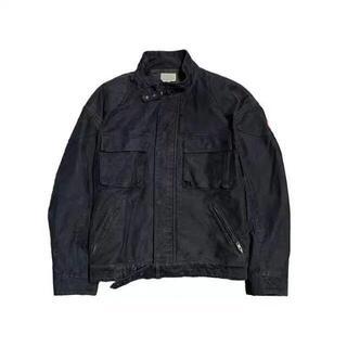 CAVEMPT C.E ブラック メンズ ノーカラージャケット(ノーカラージャケット)